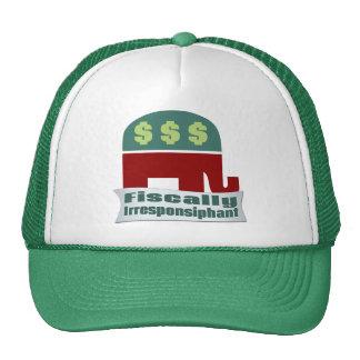 Fiscal Irresponsiphant Gorras