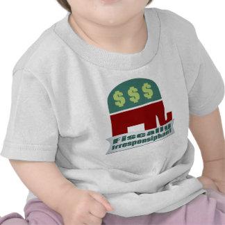 Fiscal Irresponsiphant Camiseta