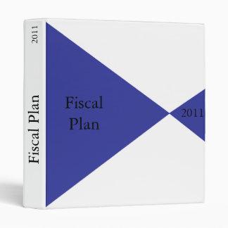 Fiscal Plan, 2011 Binder