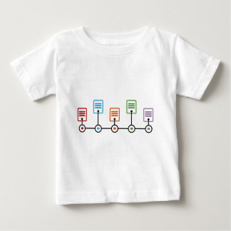 Fiscal Year Timeline Chart Baby T-Shirt