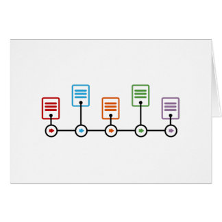Fiscal Year Timeline Chart Card