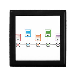 Fiscal Year Timeline Chart Gift Box
