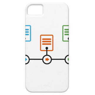Fiscal Year Timeline Chart iPhone SE/5/5s Case