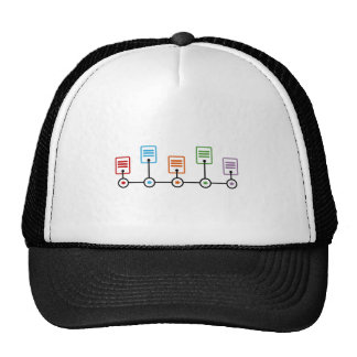 Fiscal Year Timeline Chart Trucker Hat
