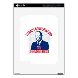 Fiscally Conservative iPad 3 Skins