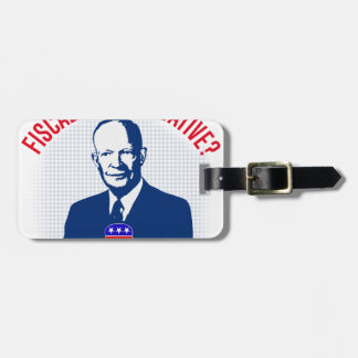Fiscally Conservative Luggage Tag