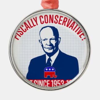 Fiscally Conservative Metal Ornament
