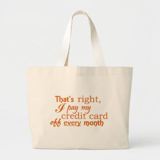 Fiscally Responsible Tote - Credit Card