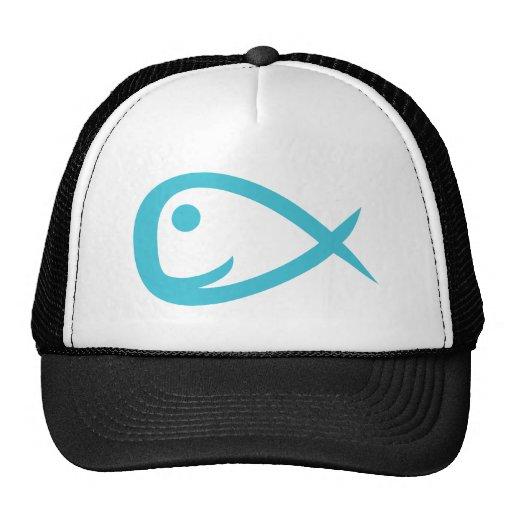 Fisch fish gorros bordados
