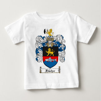 FISCHER FAMILY CREST -  FISCHER COAT OF ARMS BABY T-Shirt