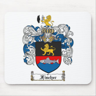 FISCHER FAMILY CREST -  FISCHER COAT OF ARMS MOUSE PAD