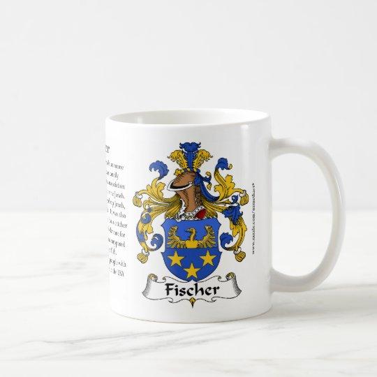 Fischer (German) Family Coat of Arms Mug