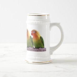 Fischer's Lovebird Beer Stein