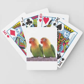 Fischer's Lovebird Bicycle Playing Cards