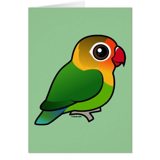 Fischer's Lovebird Card