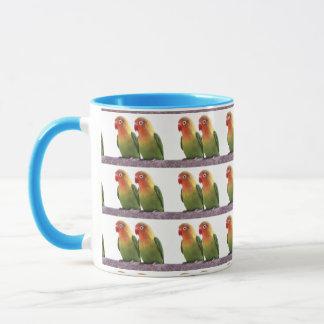 """""""Fischer's Lovebird"""" Mug"""