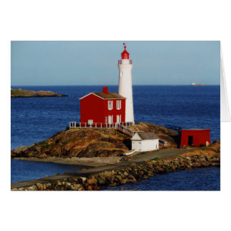 Fisgard Lighthouse Card