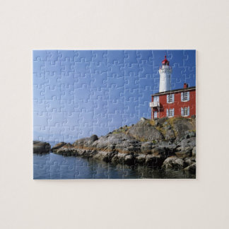 Fisgard Lighthouse in the Fort Rodd Hill Jigsaw Puzzle