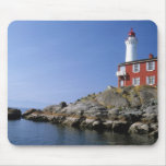 Fisgard Lighthouse in the Fort Rodd Hill Mouse Pad
