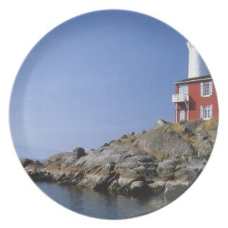 Fisgard Lighthouse in the Fort Rodd Hill Party Plate