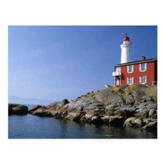Fisgard Lighthouse in the Fort Rodd Hill Postcard