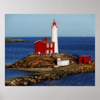 Fisgard Lighthouse Poster