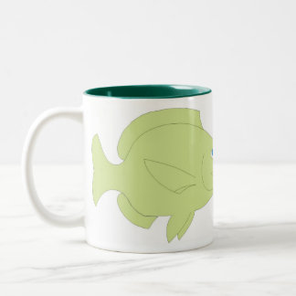 FISH3 Two-Tone COFFEE MUG