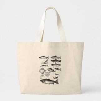 Fish 25 canvas bag