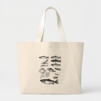 Fish 25 large tote bag