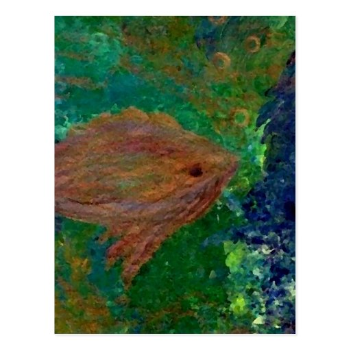 Fish 7  CricketDiane Art & Design Postcards