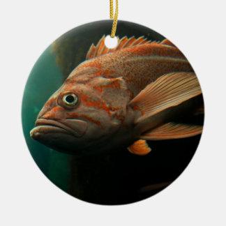 Fish 8965 ceramic ornament