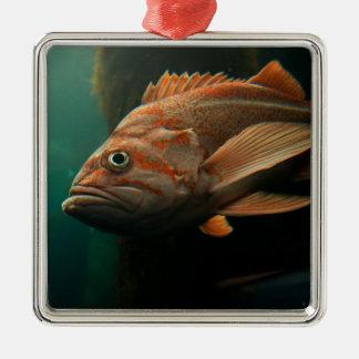 Fish 8965 metal ornament