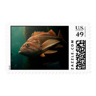 Fish 8965 postage stamp