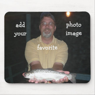 Fish Add your favorite photo image Mousepad