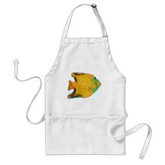 fish adult apron