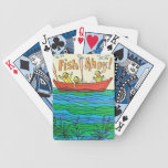 Fish Ahoy! Bicycle Playing Cards