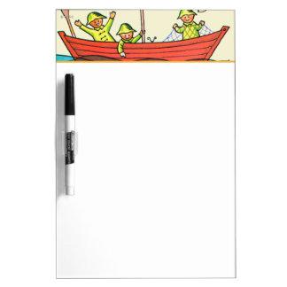 Fish Ahoy! Dry-Erase Whiteboards
