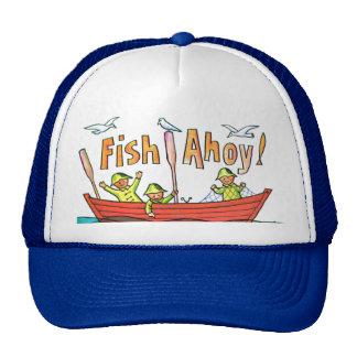 Fish Ahoy! Trucker Hat