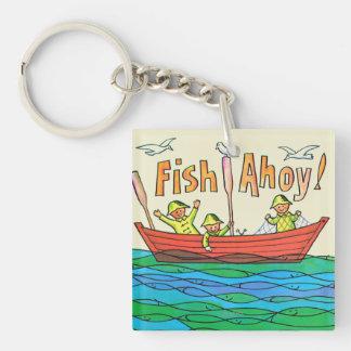 Fish Ahoy! Keychain