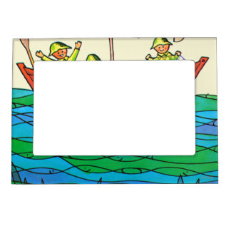 Fish Ahoy! Magnetic Picture Frames