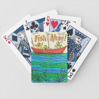 Fish Ahoy! Bicycle Card Decks