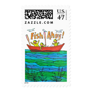 Fish Ahoy! Postage