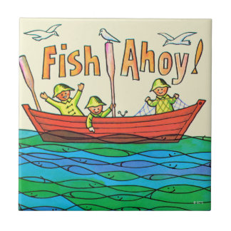 Fish Ahoy! Tile