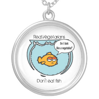 Fish Ain't Veggie Necklace