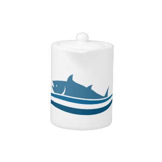Fish an icon2 teapot