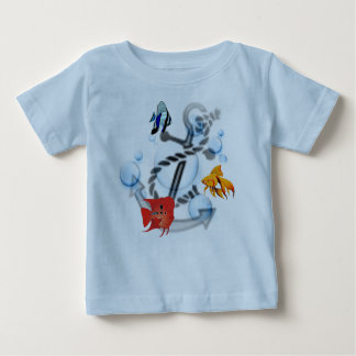 Fish & Anchor Infant T-Shirt
