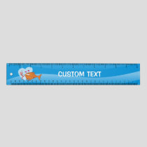 Fish and Bait in Love 12 inch Ruler