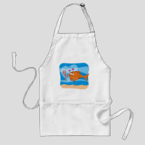 Fish and Bait in Love Adult Apron