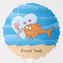 Fish and Bait in Love Balloon