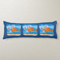 Fish and Bait in Love Body Pillow